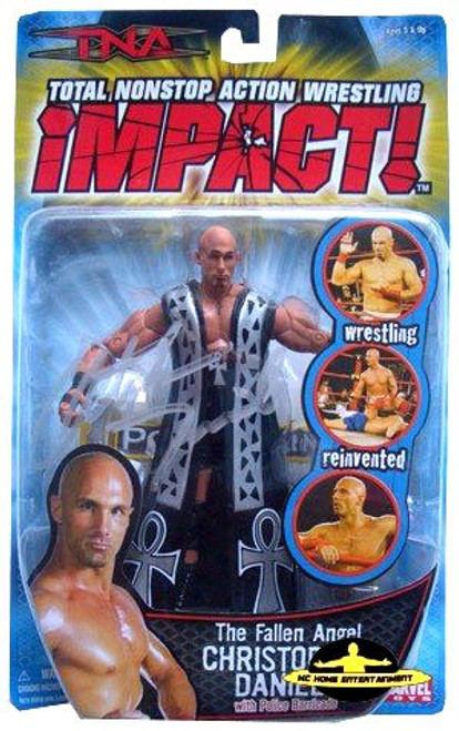 TNA Wrestling Impact Series 2 The Fallen Angel Christopher Daniels Action Figure