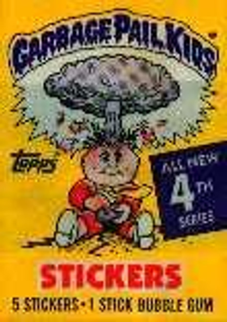 Garbage Pail Kids Series 4 Trading Card Sticker Pack