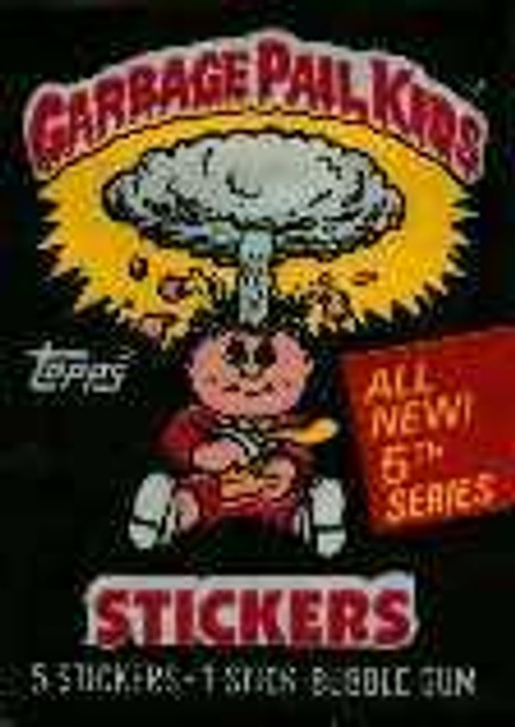 Garbage Pail Kids Series 5 Trading Card Sticker Pack