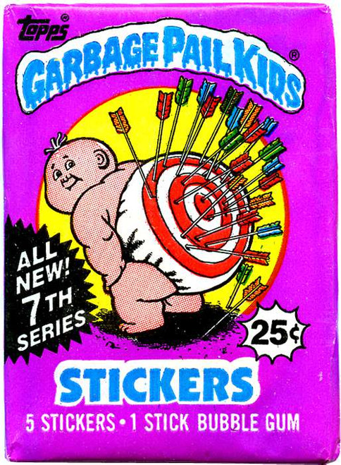 Garbage Pail Kids Series 7 Trading Card Sticker Pack