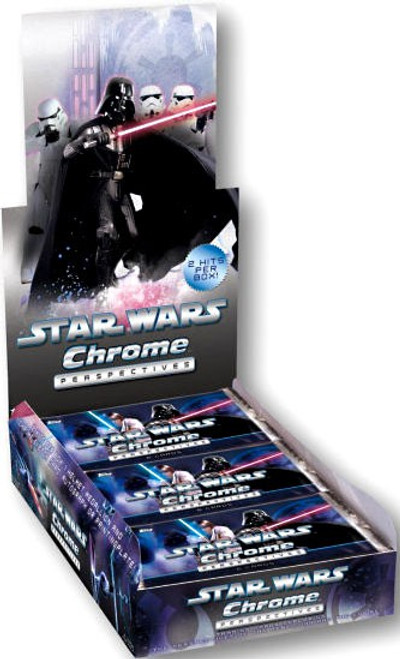 Star Wars Chrome Perspectives Trading Card Box