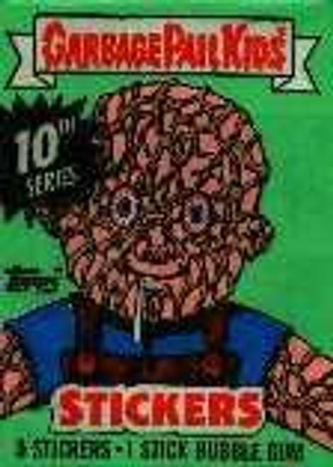 Garbage Pail Kids Series 10 Trading Card Sticker Pack