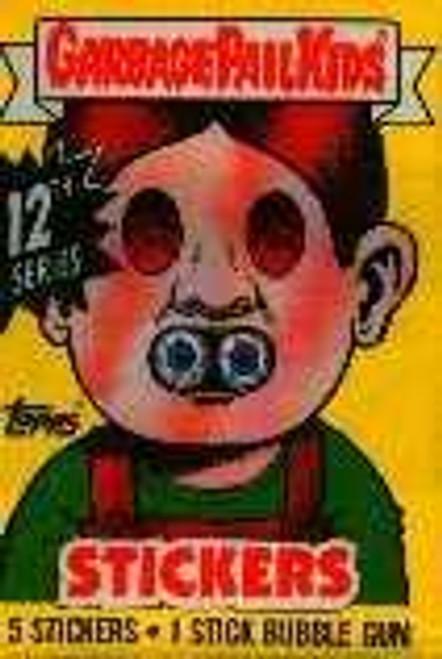 Garbage Pail Kids Series 12 Trading Card Sticker Pack