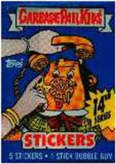 Garbage Pail Kids Series 14 Trading Card Sticker Pack
