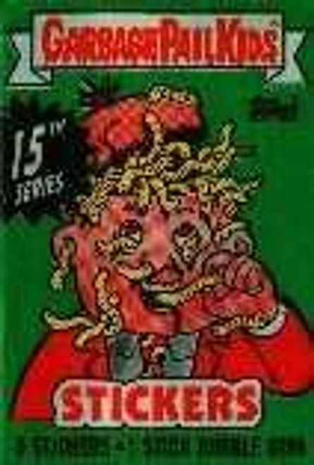 Garbage Pail Kids Series 15 Trading Card Sticker Pack