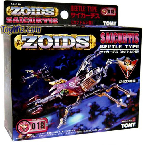 Zoids Side of Empire Saicurtis Model Kit EZ-018
