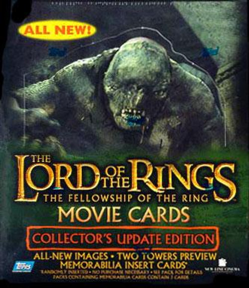 The Lord of the Rings The Fellowship of the Ring Trading Card Box [Collector's Update Edition]