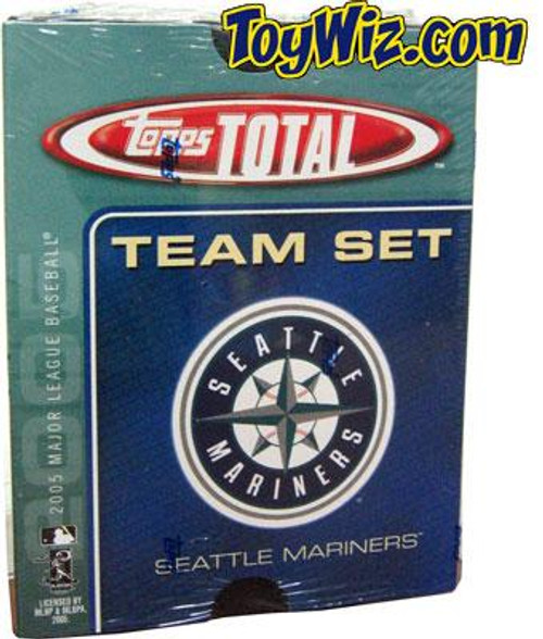 MLB 2005 Topps Total Baseball Cards Seattle Mariners Team Set