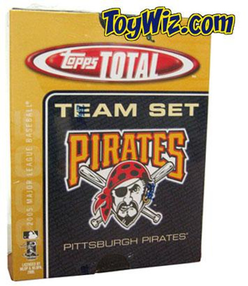 MLB 2005 Topps Total Baseball Cards Pittsburgh Pirates Team Set