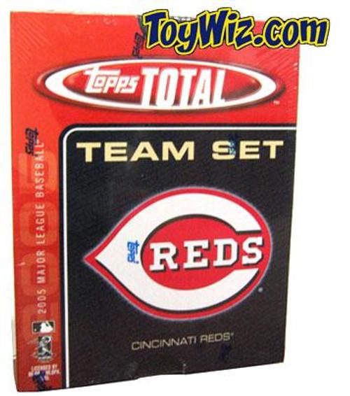 MLB 2005 Topps Total Baseball Cards Cincinnati Reds Team Set