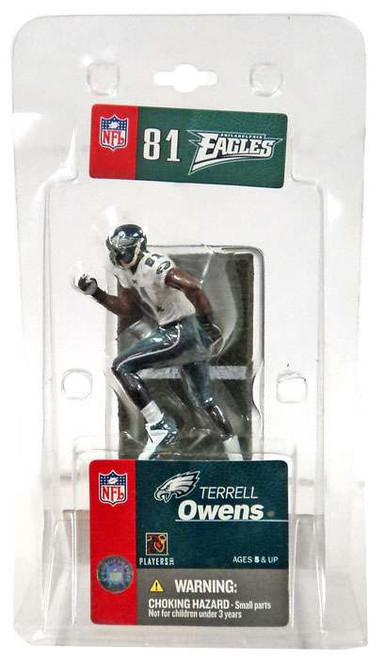 McFarlane Toys NFL Philadelphia Eagles Sports Picks 3 Inch Mini Terrell Owens Mini Figure