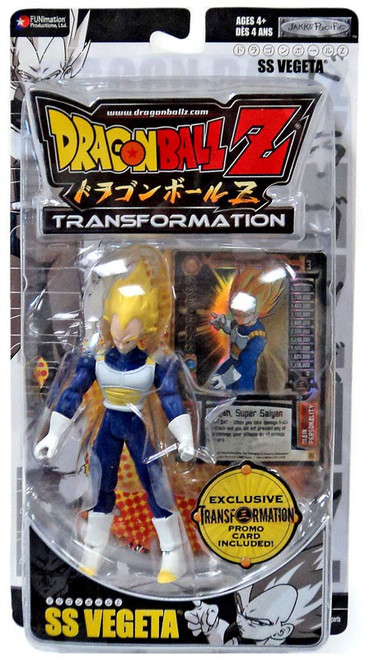 Dragon Ball Z Transformation SS Vegeta Action Figure