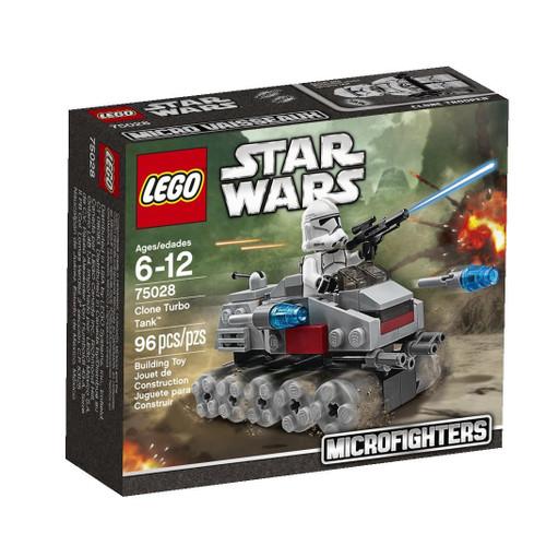 LEGO Star Wars The Clone Wars Microfighters Clone Turbo Tank Set #75028