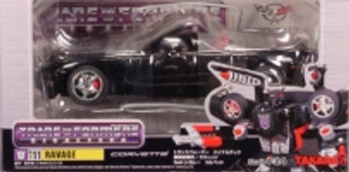 Transformers Binaltech Ravage Action Figure BT-11