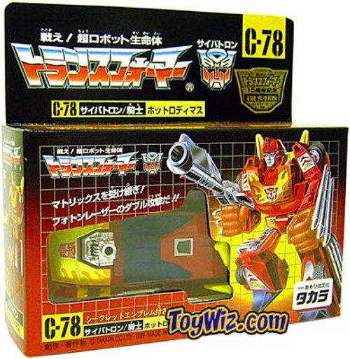 Transformers Japanese Re-Issues Hotrod Action Figure C-78