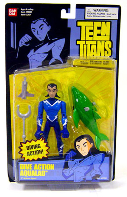 Teen Titans Go! Aqualad Action Figure [Dive Action]