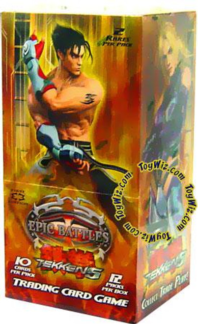 Epic Battles Tekken 5 Booster Box