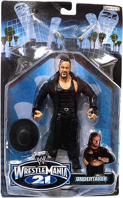 WWE Wrestling WrestleMania 21 Series 3 Undertaker Exclusive Action Figure