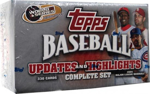 MLB 2005 Topps Baseball Cards 2005 Topps Updates & Highlights Complete Set [Factory Sealed]