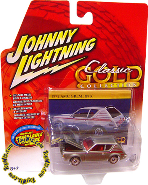 Johnny Lightning Classic Gold Collection 1972 AMC Gremlin X Diecast Car