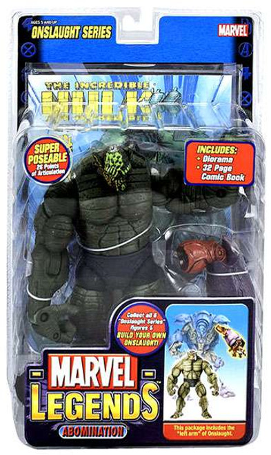 Marvel Legends Series 13 Onslaught Abomination Action Figure [Melted Face Variant]