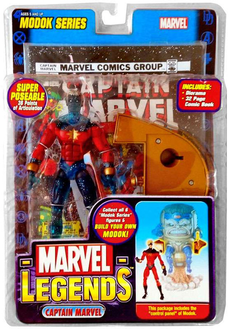 Marvel Legends Series 15 M.O.D.O.K. Captain Marvel Action Figure [Genis-Vell Variant]