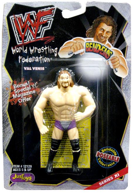 WWE Wrestling WWF Bend-Ems Series 11 Val Venis Rubber Figure