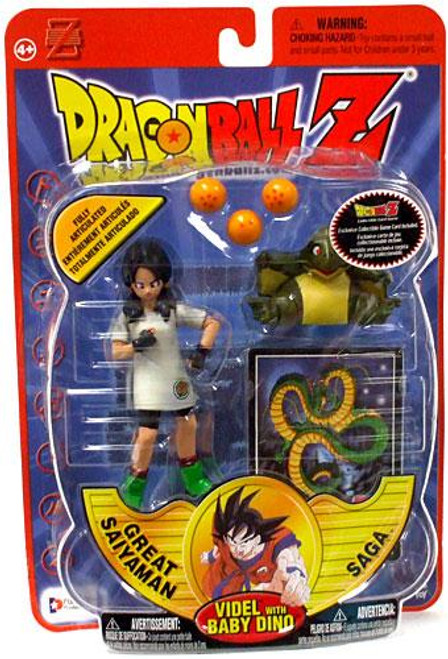Dragon Ball Z Series 8 Great Saiyaman Saga Videl Action Figure [With Baby Dino]