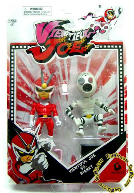 Series 1 Viewtiful Joe & Bianki Action Figure 2-Pack