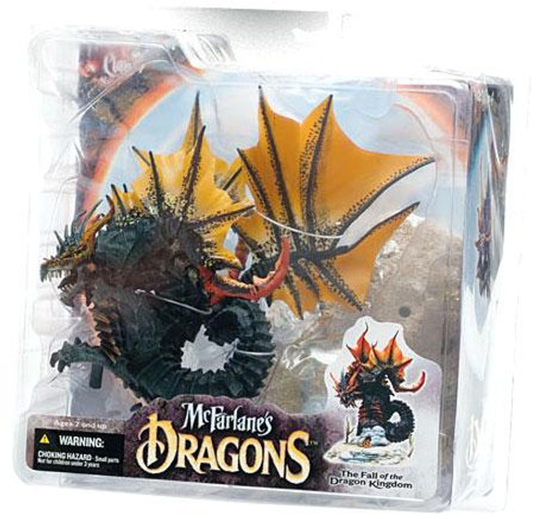 McFarlane Toys McFarlane's Dragons The Fall of the Dragon Kingdom Series 4 Water Dragon Clan 4 Action Figure