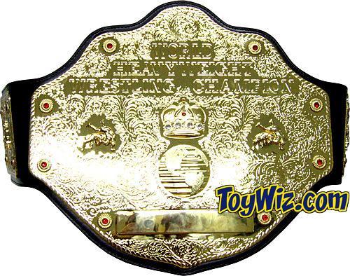 WWE Wrestling WCW Adult Replicas World Heavyweight Champion Championship Belt