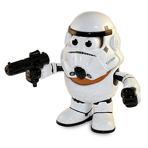 Star Wars Stormtrooper Mr Potato Head Figure