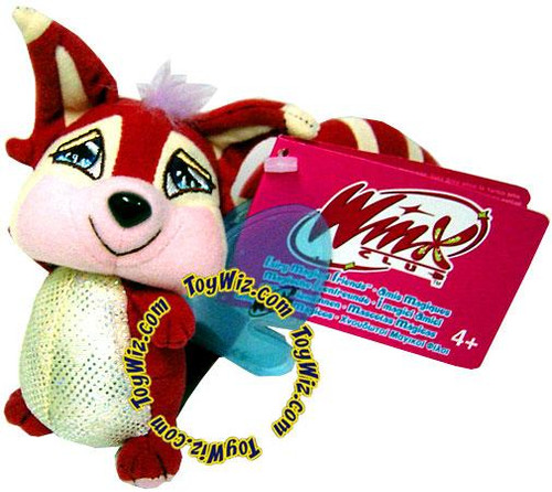 Winx Club Magical Fairy Friend Raccoon Plush