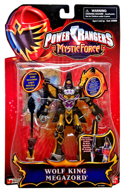 Power Rangers Mystic Force Wolf King Megazord Action Figure