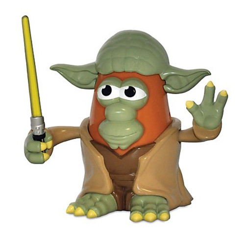 Star Wars Yoda Mr Potato Head Figure