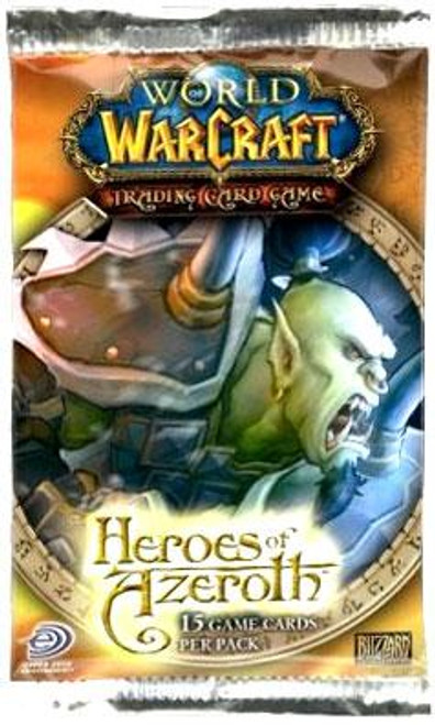 World of Warcraft Trading Card Game Heroes of Azeroth Booster Pack