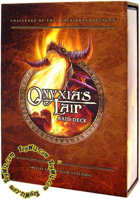 World of Warcraft Trading Card Game Onyxia's Lair Raid Deck