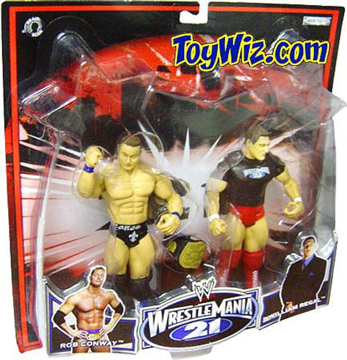 WWE Wrestling WrestleMania 21 Series 2 Rob Conway & William Regal Exclusive Action Figure 2-Pack