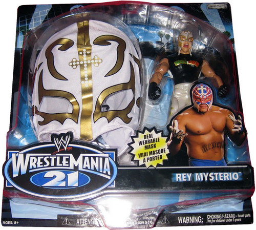 WWE Wrestling WrestleMania 21 Series 3 Rey Mysterio Exclusive Action Figure
