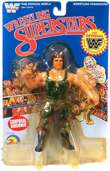 WWE Wrestling WWF Wrestling Superstars Corporal Kirchner Action Figure [Damaged Package]