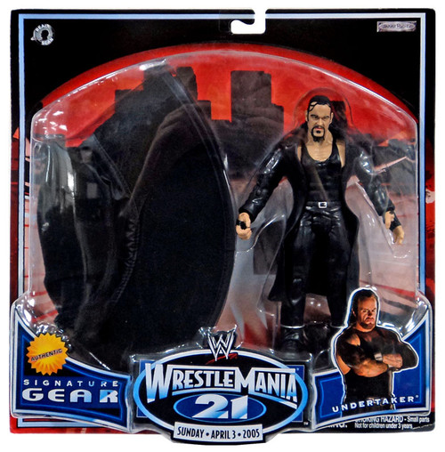 WWE Wrestling WrestleMania 21 Series 1 Undertaker Exclusive Action Figure