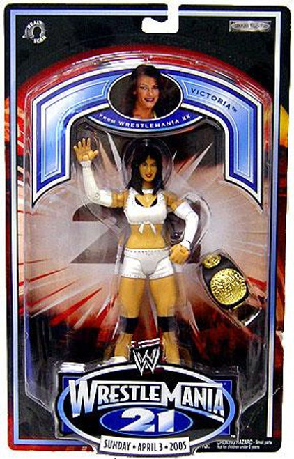 WWE Wrestling WrestleMania 21 Series 1 Victoria Exclusive Action Figure