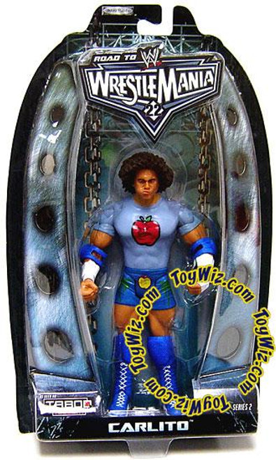WWE Wrestling Road to WrestleMania 22 Series 2 Carlito Cool Action Figure