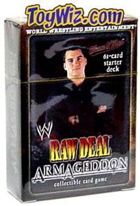 WWE Wrestling Raw Deal Trading Card Game Armageddon Shane O'Mac Starter Deck