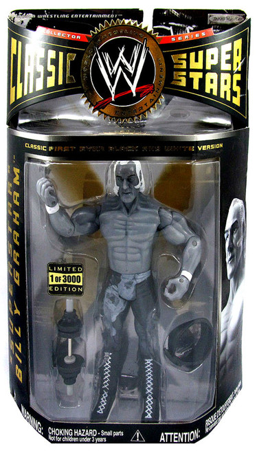 WWE Wrestling Classic Superstars Limited Editions Superstar Billy Graham Exclusive Action Figure [Black & White]