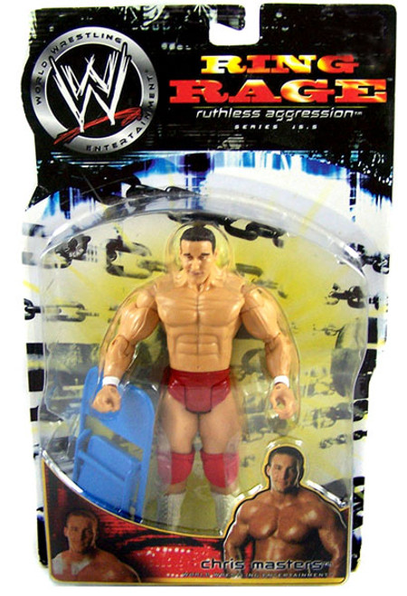 "WWE Wrestling Ruthless Aggression Series 15.5 Ring Rage Chris ""The Masterpiece"" Masters Action Figure"