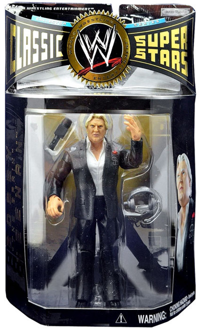 "WWE Wrestling Classic Superstars Series 6 Bobby ""The Brain"" Heenan Action Figure"