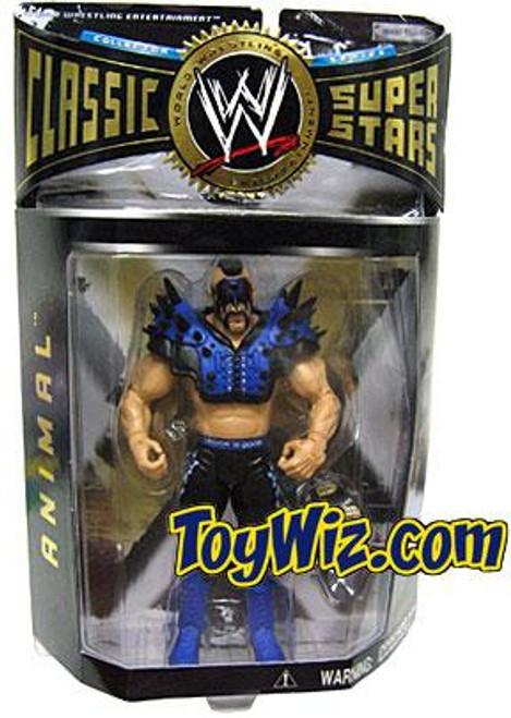 WWE Wrestling Classic Superstars Series 6 Animal Action Figure [Road Warriors]
