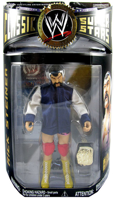 WWE Wrestling Classic Superstars Series 11 Rick Steiner Action Figure