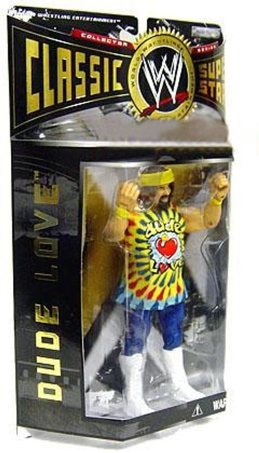 WWE Wrestling Classic Superstars Series 2 Dude Love Action Figure
